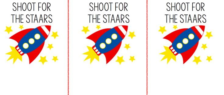 SHOOT FOR THR STAARS Student treat printable for the STAAR, add some starburst in a clear package and attach label!