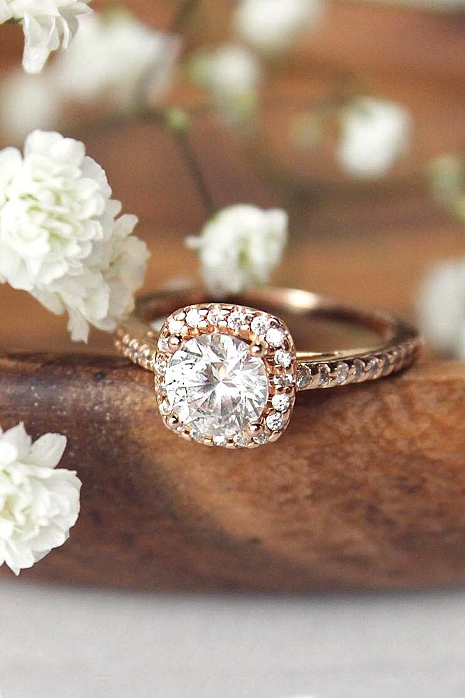 Marry me! - Engagement ring - Anillo de compromiso - ¡Cásate conmigo! Top Round Engagement Rings ❤ 18 Vintage Engagement Rings With Stunning Details ❤ See more: http://www.weddingforward.com/vintage-engagement-rings/ #wedding #engagement #rings