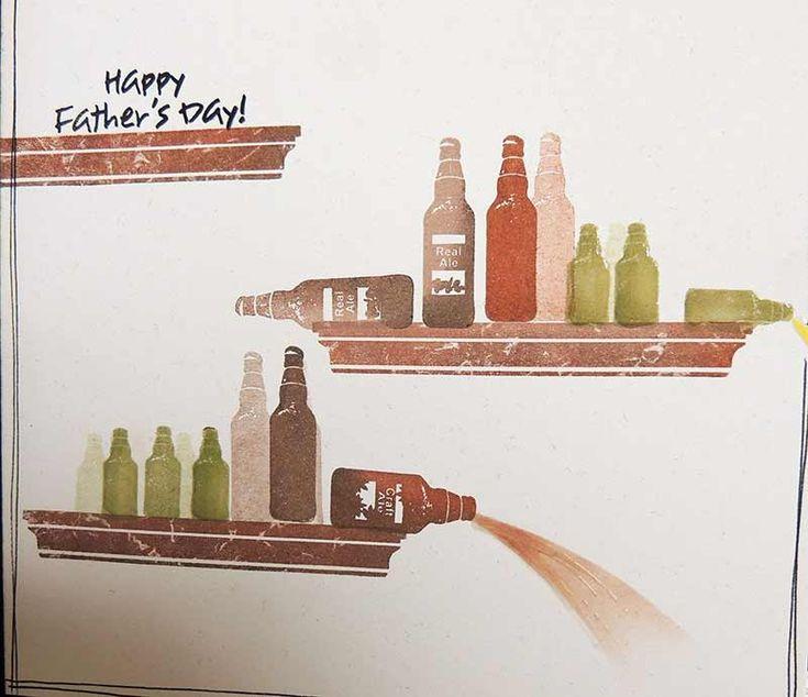 Beer Bottles on the Shelf