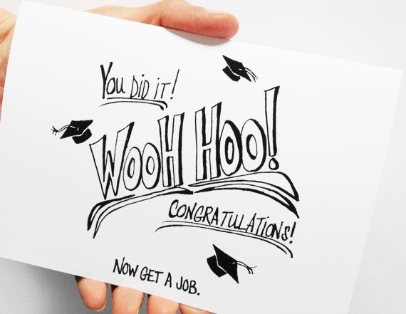 graduation card funny graduation card congratulations