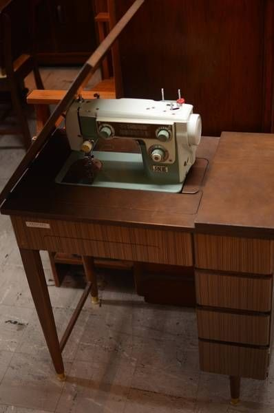 Vintage Janome Sewing Machine & Built in Sewing Table | Other Antiques, Art & Collectables | Gumtree Australia Moreland Area - Brunswick Eas...