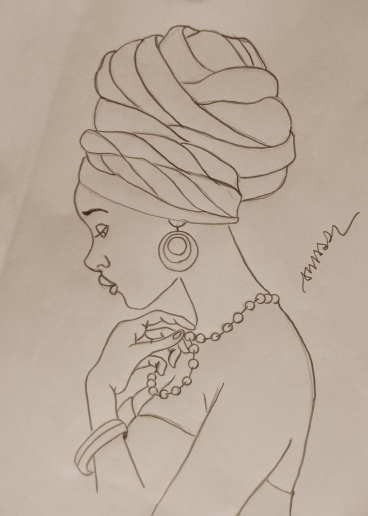 African woman pattern for tin glazed pottery project |~| http://adilson-amaral.blogspot.com.tr/2016/08/africana.html?spref=pi