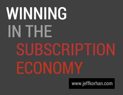 "Winning in The Subscription Economy - http://ebizworldwide.com/winning-in-the-subscription-economy/ - ""In order to attract definition from an example it does not have to be from your world."" – Malcom Gladwell Mind Blowing Facts Amazon, Facebook, Google, as well as Apple have a consolidated market cap (overall market price of outstanding shares) of around $1.72 trillion United States..."