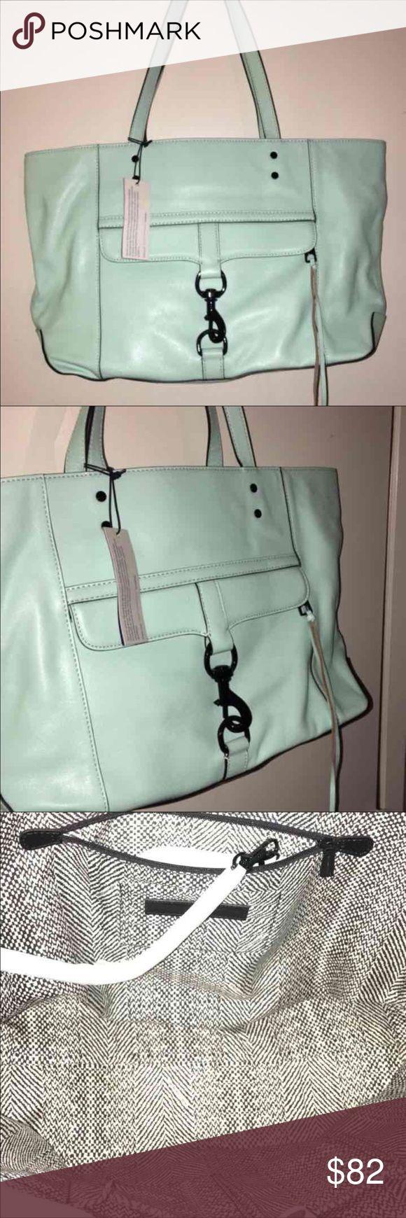 ‼️SALE SALE SALE‼️Rebecca Minkoff purse New never used Rebecca Minkoff purse. Mint color. Includes extra tassles. Perfect size. Original retail price $195. Open to offers. Rebecca Minkoff Bags Shoulder Bags