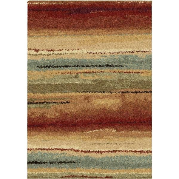 Carolina Weavers Grand Comfort Collection Field Of Vision Multi Area Rug 710 X