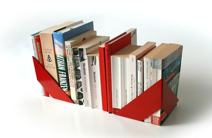 Chapters - Graphic book ends designed by Rasmus Jørgensen for Bolia