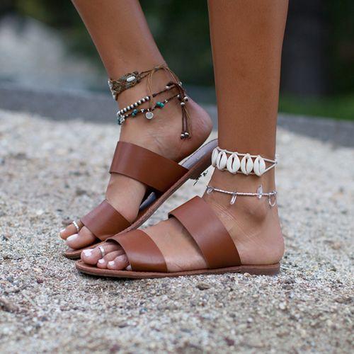 Tendance Chaussures  Nivea Slip On Sandal  Tendance & idée Chaussures Femme 2016/2017 Description Nivea Slip On Sandal- Nectar Clothing