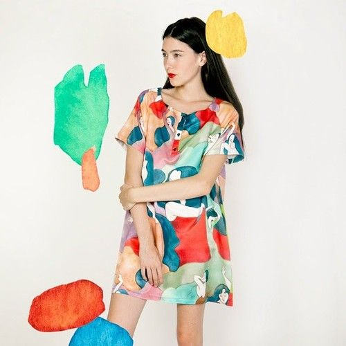 Ana Sender. Pattern design for La Casita De Wendy. Spring-summer 2015