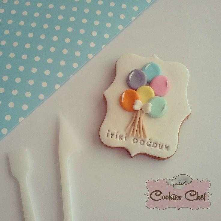 Doğum günü kurabiyeleri :) Bilgi ve sipariş için İnstagram: cookies_chef