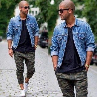 Cómo combinar unos pantalones de camuflaje en 2016 (39 formas) | Moda para Hombres