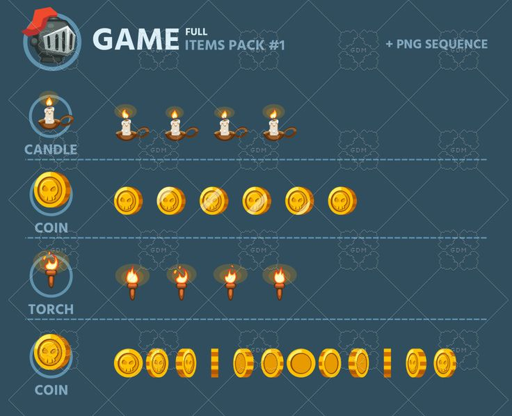 Game Items Pack 1 | GameDev Market