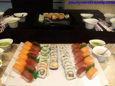 Buffet de sushi #barcelo #santipetri http://www.pacoyverotravels.com/2014/06/barcelo-sancti-petri-vacaciones-familiares.html