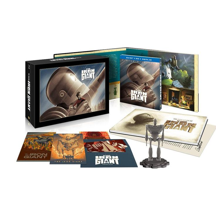 """The Iron Giant: Signature Edition Ultimate Collector's Edition from Warner Bros.: """"When The Iron Giant arrived in… #Movies #Films #DVD Video"""