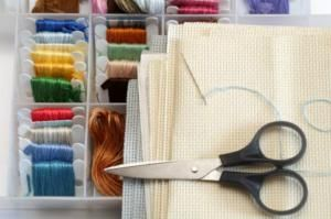 Tips and ideas for organizing your cross stitch supplies: Organizing Floss