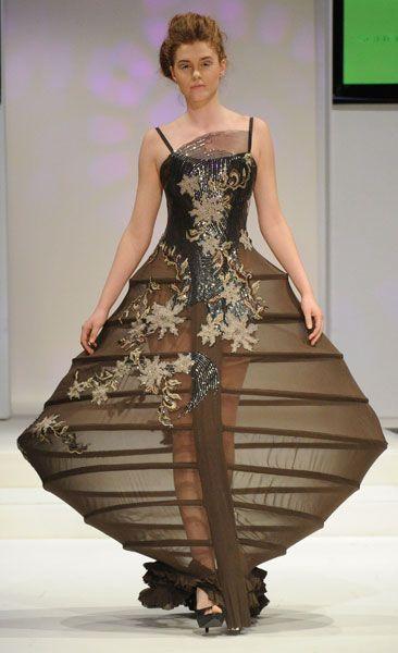 dress unique shape