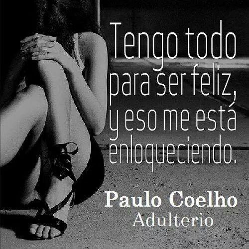 Adulterio. Paulo Coelho