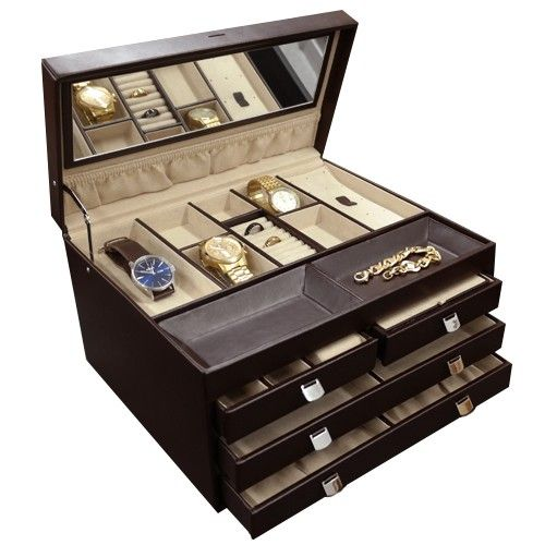 Red Envelope Large Jewelry Box