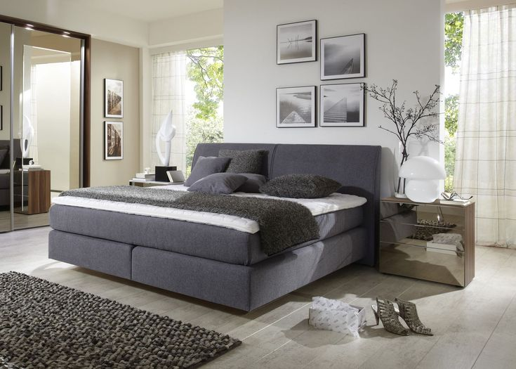 7 best Beds images on Pinterest 3 4 beds, Bed furniture and - schlafzimmer boxspringbett