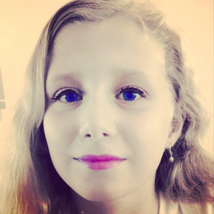 Elise (10) via Instagram #selfiekunst