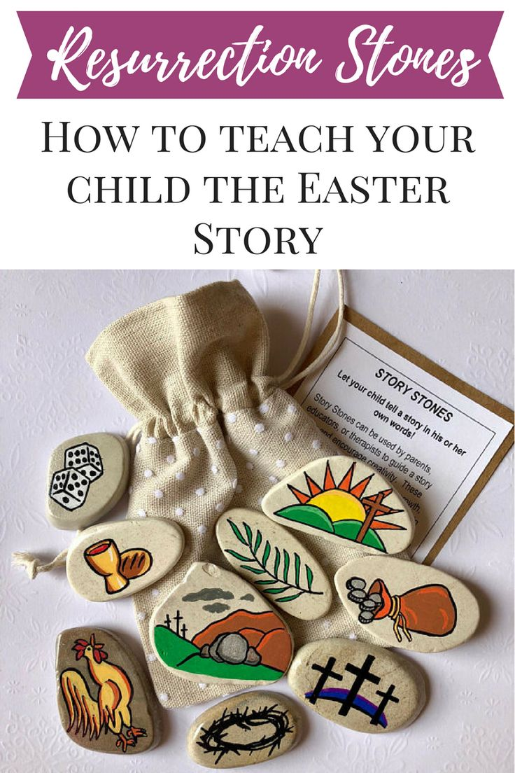 I love this set of Easter images to help remind kids of the real reason we celebrate Easter: the Resurrection of Christ!
