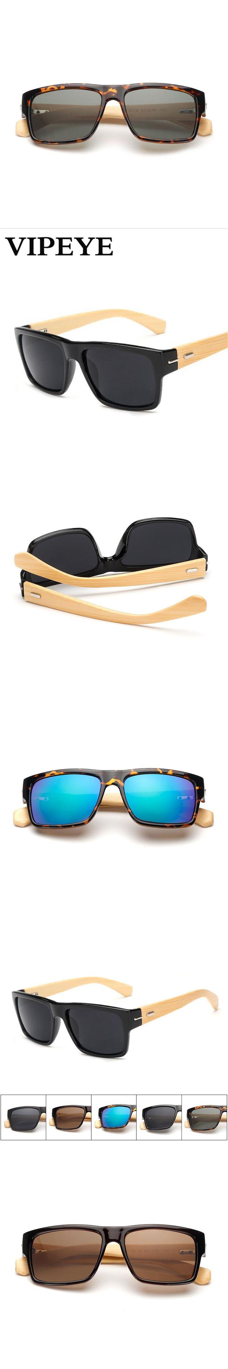 5 Color Handmade Bamboo Sunglasses Women Brand Designer Anti-UV UV400 Square Mirror Sunglasses Vintage Sun Glasses for Women