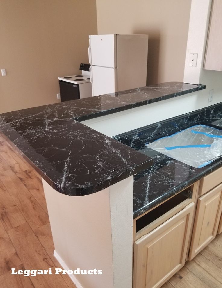 Diy Countertops Black Marble Leggariproducts Leggari Products