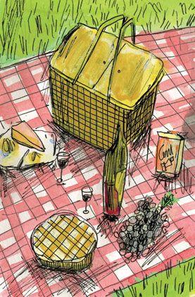 P is for picnic basket ELIZABETH GRAEBER