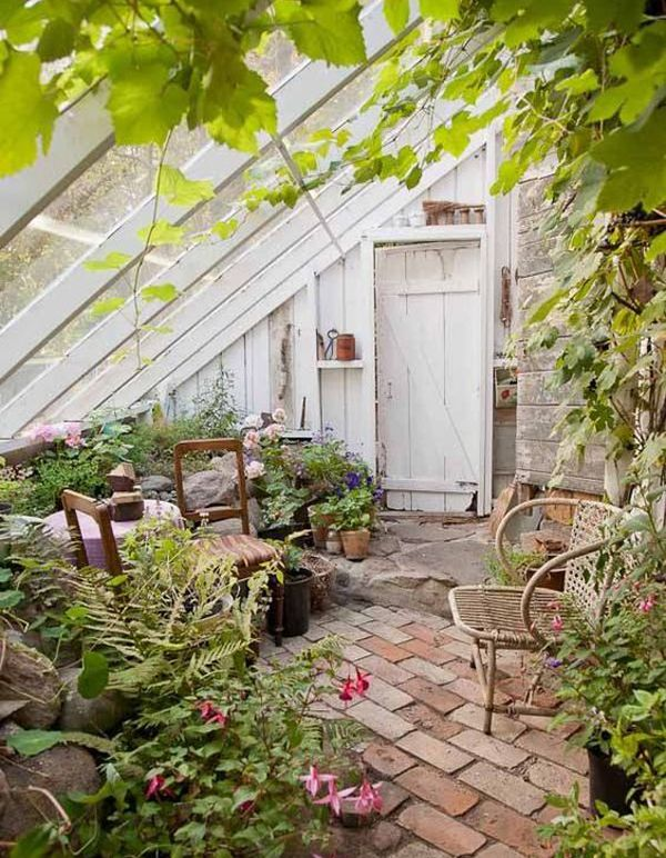 25 Beautiful Winter Gardens Integrated To Your Interior Home Design And Interior Winter Garden Greenhouse Gardening Greenhouse