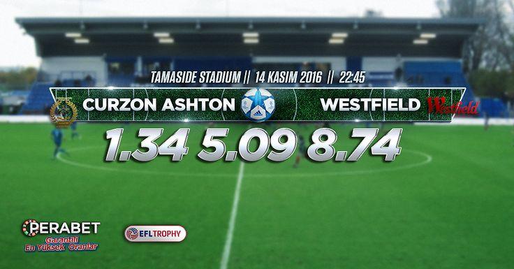 Curzon Ashton – Westfields İngiltere #FACup 1. Tur tekrar maçında #CurzonAshton ilk maçta berabere kaldığı #Westfields ile karşı karşıya geliyor. FA Cup kuralları gereği beraberlik bozulana kadar saha değişimi olarak maç tekrarlanıyor. #Bahis severler için #Enyüksekbahisoranları ve #Canlıbahis seçeneklerimiz #Perabet'te sizlerle. Bugün: 22.45 http://perabet70.com