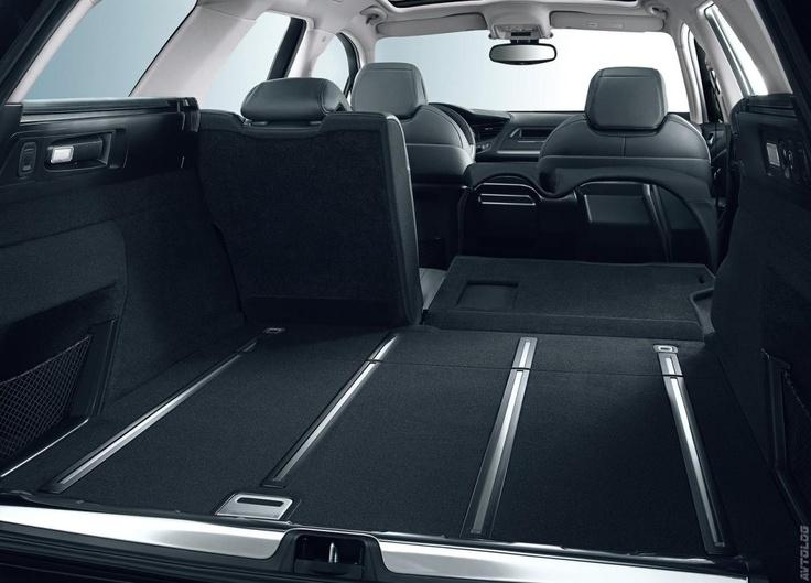 2011 Citroën C5 Station Wagon koltukları yatırıldığında bagaj hacmi | Ulugöl Otomotiv Citroen C5 sayfası: http://www.ulugol.com.tr/Citroen-Detay.aspx?id=31