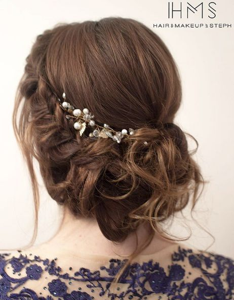 Hair and Makeup By Steph Wedding Hairstyle Inspiration