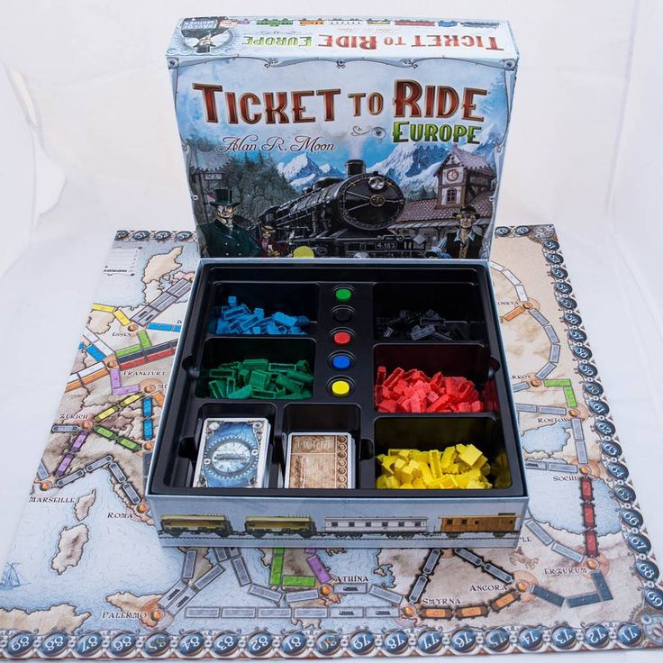 """The rules are simple enough to write on a train ticket"" says Ticket to Ride author, Alan R. Moon #tickettoride #tickettorideeurope #boardgames #brætspil #brädspel #brettspill #spil #spill #train #traincars"