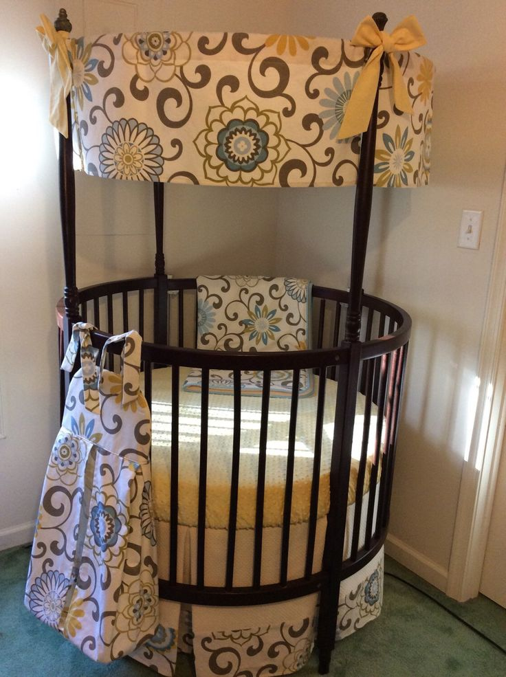 17 Best Ideas About Round Cribs On Pinterest Baby Cribs