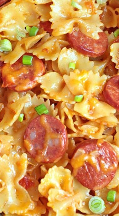 One Pot Kielbasa Pasta ........................................................ Please save this pin... ........................................................... Because For Real Estate Investing... Visit Now! http://www.OwnItLand.com