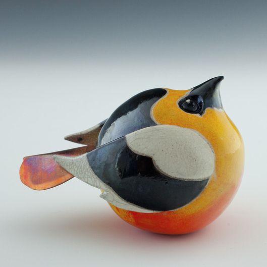 Vogel van keramiek - Ceramic bird by Terri Axness #art