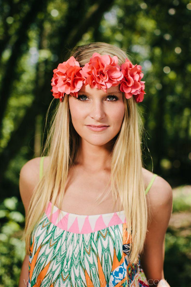 Fashion Photography Boho Flower Crown Brooke Davis Photography
