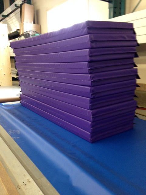 Custom gym mats ready for shipping!  http://sportsystemscanada.com/en/products/gym-mats