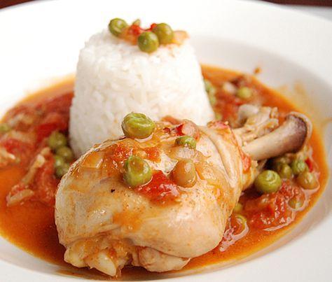 Chicken with Sweet Peas (Pollo Arvejado-CHILE)