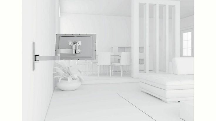 vogel´s® TV-Wandhalterung »WALL 2045« schwenkbar, für 43-66 cm (17-26 Zoll) Fernseher, VESA 100x100 Jetzt bestellen unter: https://moebel.ladendirekt.de/wohnzimmer/tv-hifi-moebel/tv-halterungen/?uid=93b33dda-f5f9-555d-85e0-c285a5f4b3e9&utm_source=pinterest&utm_medium=pin&utm_campaign=boards #tvhalterungen #wohnzimmer #tvhifimoebel