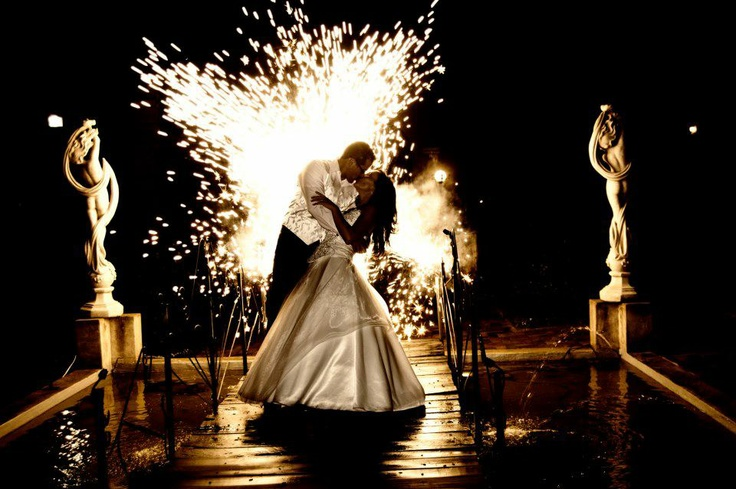 Spectacular Pyro on your wedding day...absolutely stunning!!