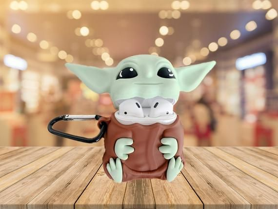 New Grogu Baby Yoda Airpod 2 Case The Green Child Gen 1 2 Etsy Cute Ipod Cases Cute Phone Cases Airpod Case Baby yoda wallpaper iphone xr