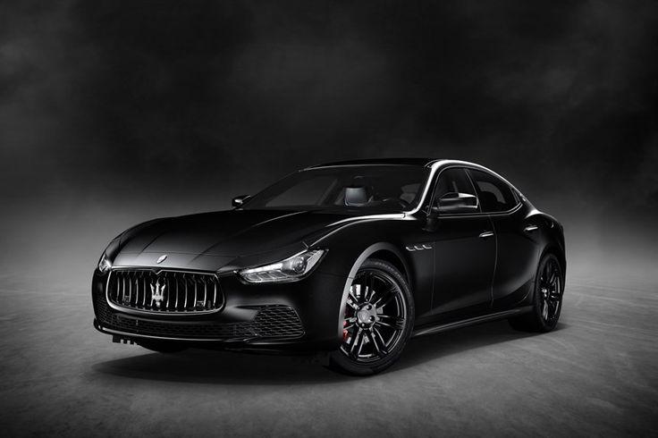 Maserati Ghibli Nerissimo: nuova serie speciale in mostra al Salone di New York 2017 - ClubAlfa.it
