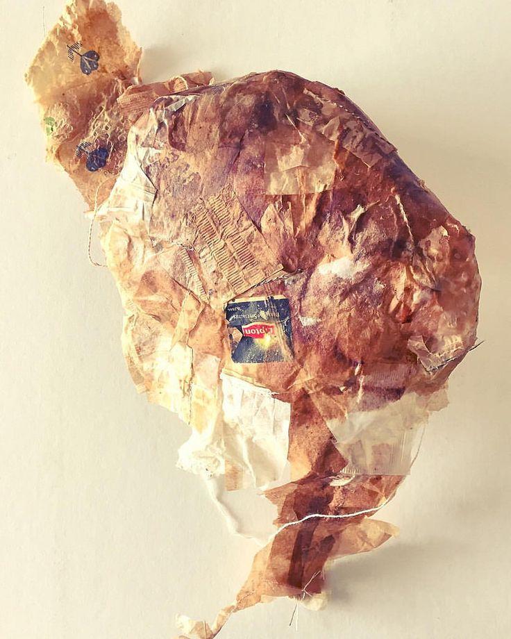 Cuerpo Continental @valeriaburgoav  #art #tealovers #te #teabags #objeto #sculpture #recicle #reutilizacion #sculpture