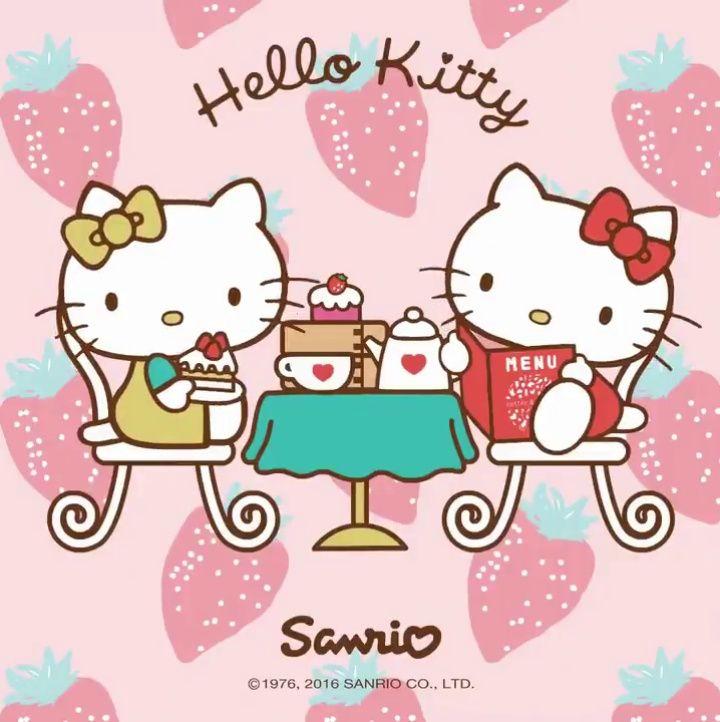 Mimmy white et hello kitty afternoon tea pinterest - Hello kitty et mimi ...