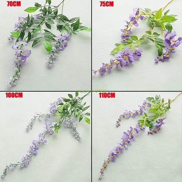 lange reeks kunstmatige bloem wijnstok zijde wisteria krans bruiloft decoratie opknoping eqa868(China (Mainland))