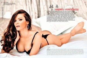 #celebrityfeetinthepose #Slovakia #Slovak #model and #beauty #queen Andrea Veresova 2