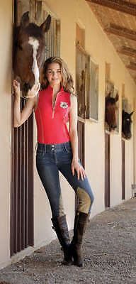 Jodhpurs and Breeches 16242: Goode Rider Jean Rider Breech Knee Patch, Black Denim, 24R -> BUY IT NOW ONLY: $143.1 on eBay!