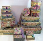 Tri-Coastal Conjunto De 3 Paris Borboleta Francês Lembrança de nidificação armazenamento de caixas de chapéu | Casa e jardim, Decoração para casa, Caixas, frascos e latinhas | eBay!
