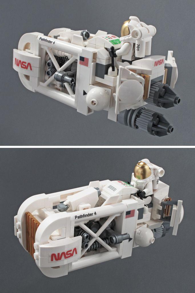 Don't Step On the LEGOs — pimpmybricks:   NASA Speeder by halfbeak...