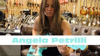 Angela Petrilli: Fender FSR Telecaster in Sea Foam Green with Matching Headstock   Happy #TeleTuesday on this beautiful Fourth of July!!! Check out one of our favorite guitarist Angela Petrilli playing our Limited American Fender Telecaster in Sea Foam Green with Matching Headstock here at #NormansRareGuitars! Check out her band at http://ift.tt/2fO2ONv and her instagram page @angelapetrillimusic What do you guys think? Angela Petrilli playing our Fender FSR Telecaster in Sea Foam Green with…